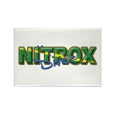Dive Nitrox Rectangle Magnet