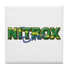 Dive Nitrox Tile Coaster