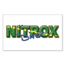 Dive Nitrox Rectangle Decal