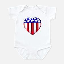 MY AMERICAN HEART Infant Bodysuit