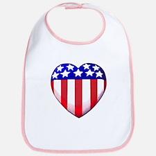 MY AMERICAN HEART Bib