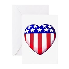 MY AMERICAN HEART Greeting Cards (Pk of 10)