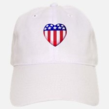 MY AMERICAN HEART Baseball Baseball Cap