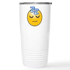 Smiley 08 Travel Coffee Mug