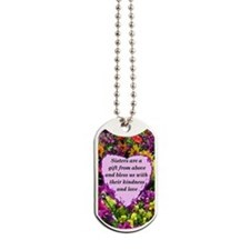 SISTER BLESSING Dog Tags