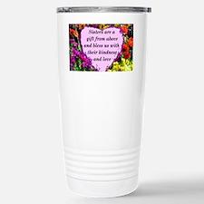 SISTER BLESSING Stainless Steel Travel Mug