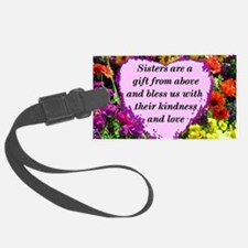 SISTER BLESSING Luggage Tag