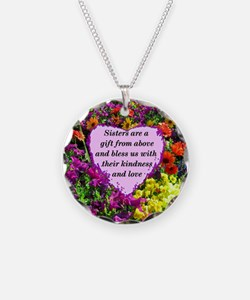 SISTER BLESSING Necklace