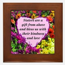 SISTER BLESSING Framed Tile