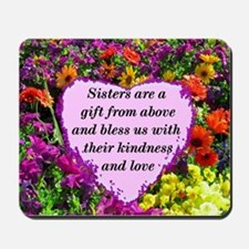 SISTER BLESSING Mousepad