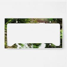 Woodland Stream License Plate Holder