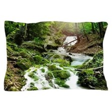 Woodland Stream Pillow Case