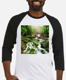 Woodland Stream Baseball Jersey