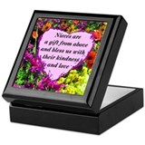 Niece Square Keepsake Boxes