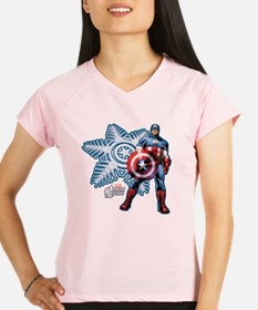 Holiday Captain America Performance Dry T-Shirt