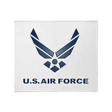 USAF Symbol Throw Blanket
