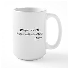 Dalai Lama 3 Large Mug
