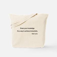 Dalai Lama 3 Tote Bag