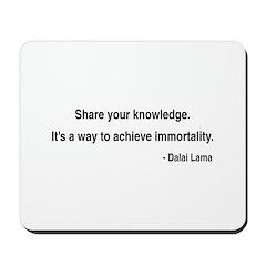 Dalai Lama 3 Mousepad