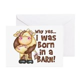 Cow Greeting Cards (10 Pack)