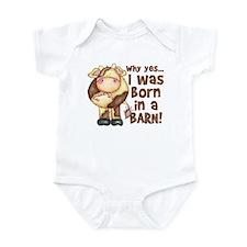 Born in Barn Infant Bodysuit
