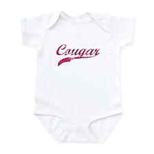 COUGAR SHIRT MILF MATURE SEXY Infant Bodysuit