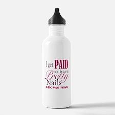 Pretty Nails Water Bottle