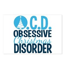 Christmas Obsessed Postcards (Package of 8)