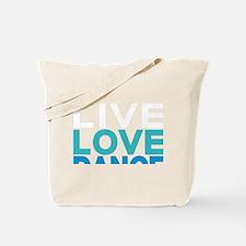 Swing Dancer California Tote Bag