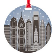 Philly Snowflakes Ornament