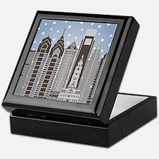 Philly Snowflakes Keepsake Box