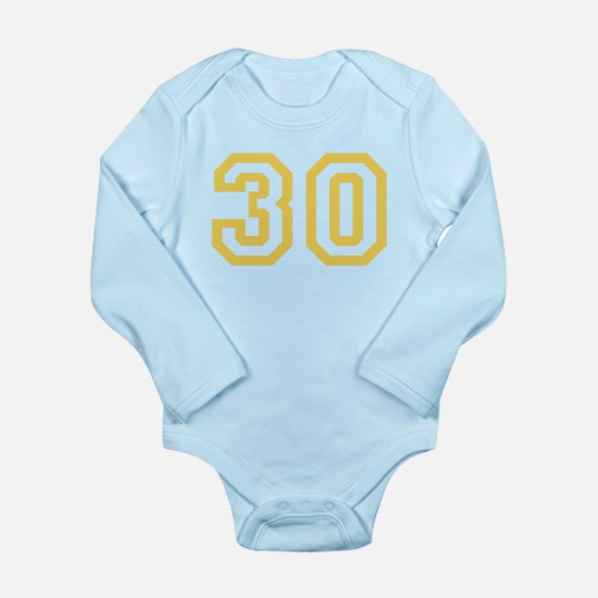 GOLD #30 Long Sleeve Infant Bodysuit