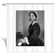 florence nightengale Shower Curtain