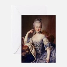 marie antoinette Greeting Cards