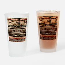 Beaded Realistic Art Drinking Glass
