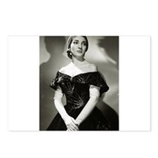 maria callas Postcards (Package of 8)
