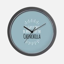 Chinchilla Approved Wall Clock