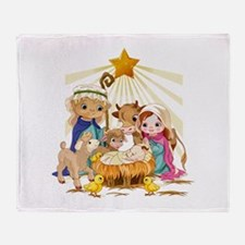 Nativity- Throw Blanket