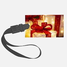 Illuminated Christmas Luggage Tag