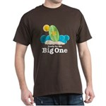 Ready For The Big One Beach Surf Dk Brown T-Shirt