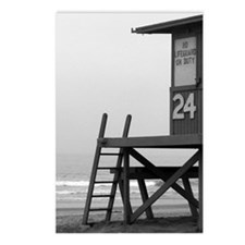 Lifeguard Tower 24 Postcards (Package of 8)