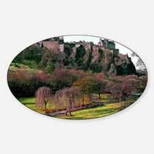Edinburgh Castle View Decal