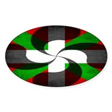Basque Flag and Cross Decal