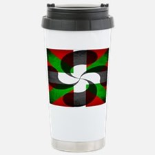 Basque Flag and Cross Travel Mug