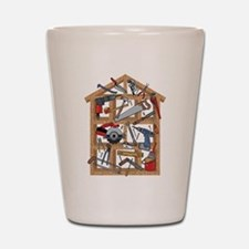 Home Construction Shot Glass