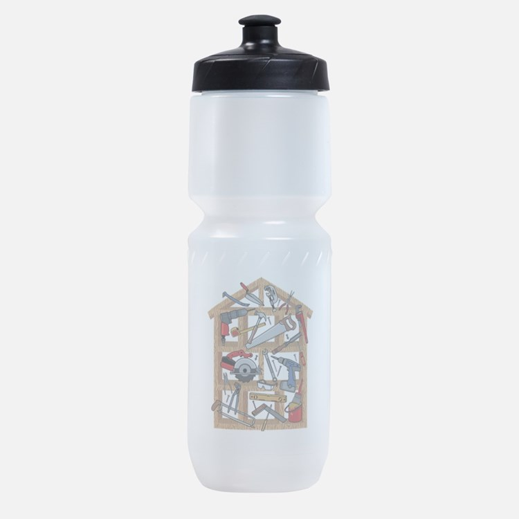 Home Construction Sports Bottle