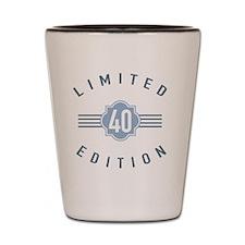 40th Birthday Limited Edition Shot Glass