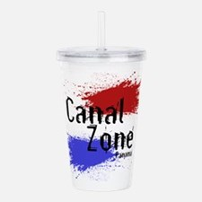 CanalZone.png Acrylic Double-wall Tumbler