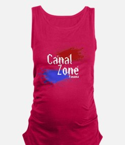 Canalzone.png Maternity Tank Top