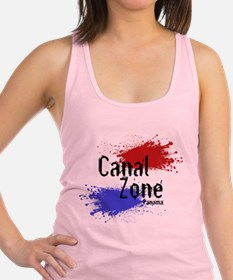 CanalZone.png Racerback Tank Top